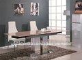 Moderno extensible de mármol mesa de comedor tc-846