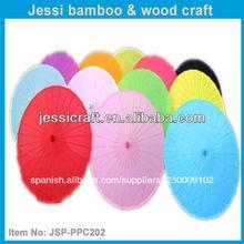 la impresión personalizada de bambú de papel chino sombrilla de la boda