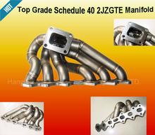 Horario 40 múltiple de turbo para toyota supra 2jz gte 2 jzgte mkiv 93-98( se ajusta: toyota supra)