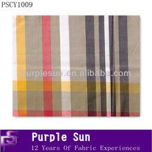 nuevo diseño 100 hilados de algodón teñido de tela cambray
