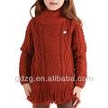 la novela de moda suéter diseños para niños de la mano de punto