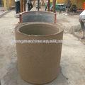 Tubería de concreto que hace la máquina de tubos, de cemento reforzado con tubos de hormigón de máquinas