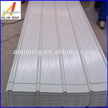 de acero galvanizado corrugado hoja de planta cubiertas