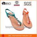 2014 las mujeres los zapatos de verano de moda sandalias sandalias zapatos de las señoras