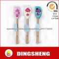 Food grade Silicone spatula with silkprinting