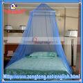 Baratos palacio cúpula de encaje jacquard niñas mosquiteros cama con dosel( azul)