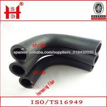 epdm goma de la manguera / tubo de goma resistente al aceite / anti-envejecimiento EPDM tubo de goma