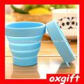 OXGIFT Caramelos de viajes portátil de silicona doblar cup