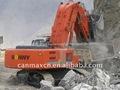 Excavadora 2.5m3 ce460-5 frente a la pala