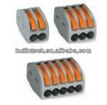 Wago 222 series de conector rápido de compacto para bloquues de terminales con palancas