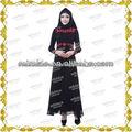meilleure vente motifs de broderie arabe abaya MF21377