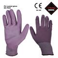 stecho pu guantes de protección de corte de vidrio