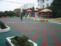 tapete de borracha, piso de borracha para playground/jardim de infância/ginásio