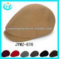 caliente de yiwu boina gorra militar de pico de la tapa tapa de la señora y sombreros