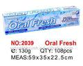 cresta de pasta de dientes