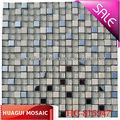 Verre de cristal mosaïque de pierre pour mur