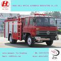 Dongfeng 4*2 6000 lwater tan camión de bomberos