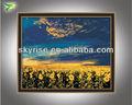 natural impresionista paisaje pintura del arte de los girasoles