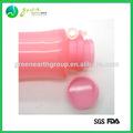 Caliente de la venta popular colorido la botella de agua plegable de silicona