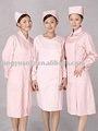 el hospital nuring uniforme de color rosa
