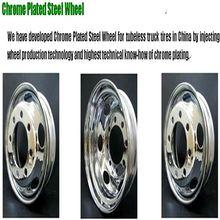 rueda del acero del tailer