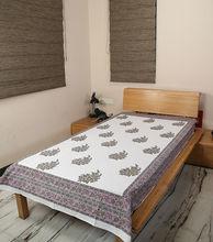 100% lençol de algodão tecido, tecido para lençol, mão bloco de impressão tampa de cama