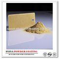 recubrimiento de polvo epoxi poliéster oro