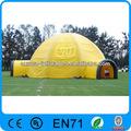 Publicidad acampar al aire libre tienda de campaña inflable/carpa inflable/tienda de la playa