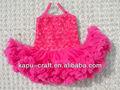 venta caliente rosa bebé niñas vestidos de fiesta