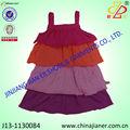 2014 nueva llegada de moda cordones vestido debebé venta al por mayor vestido de cumpleaños para las niñas