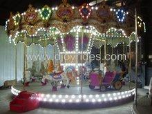 parque de atracciones carrusel de caballos para la venta