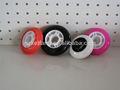 ruedas de skate/Top venta de velocidad de la pu patín en línea de rodillos/ruedas de skate/patines en línea de ruedas de goma