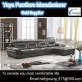 muebles para el hogar sofás de cuero conjunto 2132#