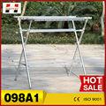 098a1 venta caliente al aire libre estante de la ropa de pie con la bisagra