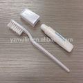 blanco cepillodedientes de viaje con 10g de pasta de dientes