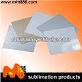 La sublimación de espacios en blanco de aluminio hojas de oro 0.5-0.7mm/plata/sublimación de color blanco las hojas de metal