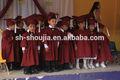 Los niños de la bata de graduación, bata de graduación, vestido de graduación