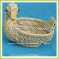 hecho a mano cestas de animales forma