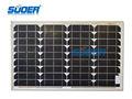 paneles solares mono 35w 18v de la célula solar módulo
