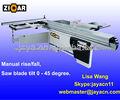 3200mm Escuadradora de carpintería MJ6132YII, con inclinacion 45°-90°
