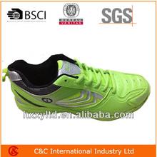 2014 nuevo diseño popular de los hombres baratos de calzado deportivo con suela md de bádminton de calzado para hombres