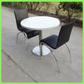 中国メーカー固体surfafceファーストフードのレストランのテーブルと椅子
