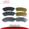 Gran stock en piezas de automóviles de freno delantero calza oem: 06455-sok-j00