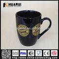 12oz Promocional Taza de café de cerámica, Dia 8.2cm x H10.5cm