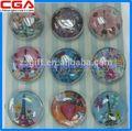 exquisitas artesanías de vidrio peso de papel para la decoración del hogar