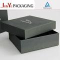 negro mate duro de cartón cajas de regalo con tapa