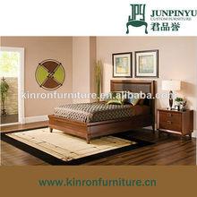 El último diseño superior de la venta de muebles de dormitorio cama de la plataforma k-b03