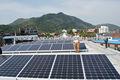 sistema de paneles solares de alta eficiencia/red de energía solar generador para el hogar con envío gratis( 8kw 10kw))