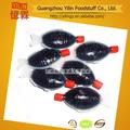 de fabricación china no omg 8ml pescado salado de la salsa de soja para el sushi de alimentos con certificados haccp y la iso
