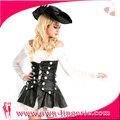 fresco del caribe para adultos traje de pirata de las mujeres